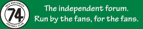 1874 Northwich F.C. Independent Forum